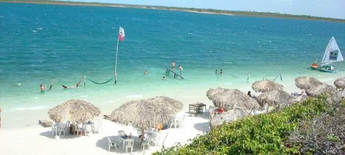 Praia Principal é uma das praias mais bonitas de Jericoacoara