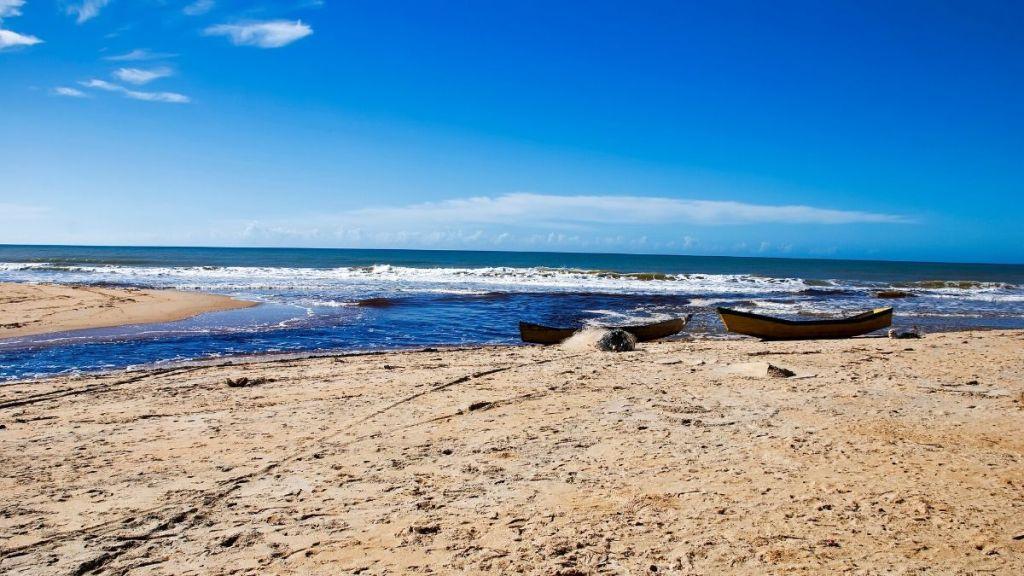 Praia do Riacho Doce, Itaúnas, Espírito Santo