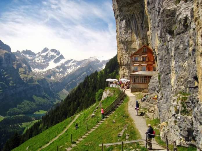 Appenzell é um dos lugares maravilhosos na Suíça