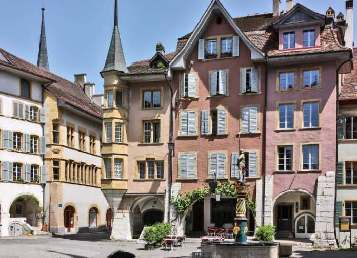 Biel é um dos lugares na Suíça com paisagens deslumbrantes