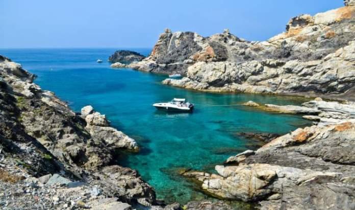 Cap de Creus, Costa Brava e Catalunha é uma das melhores praias da Espanha