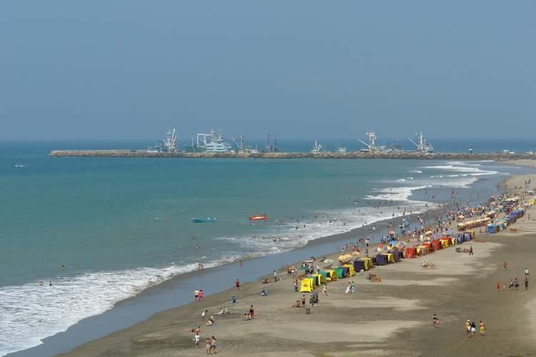 El Murciélago é uma das praias mais bonitas do Equador
