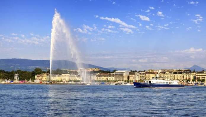 Genebra é um dos lugares na Suíça com paisagens deslumbrantes