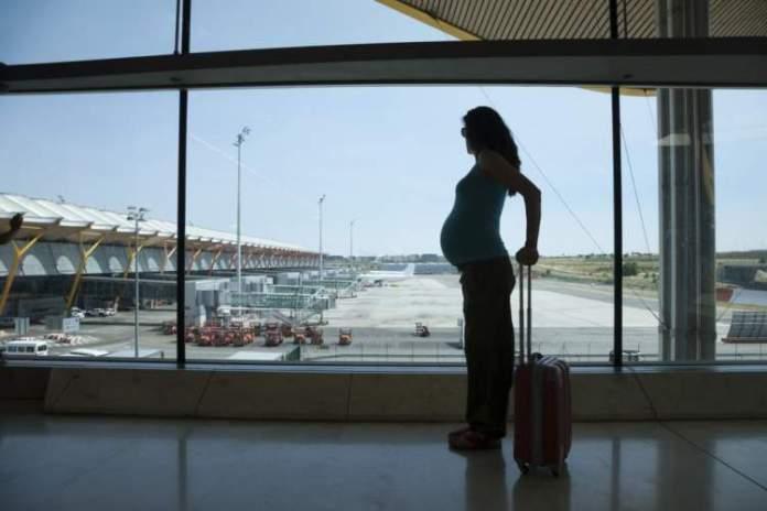 Grávida pode viajar de avião inicio post