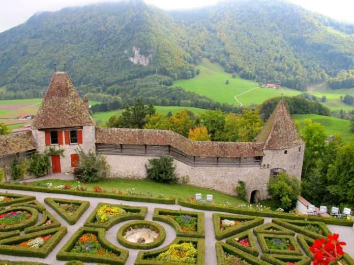 Gruyères é um dos lugares maravilhosos na Suíça