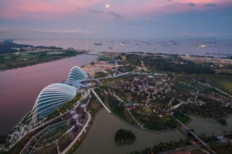 Jardim Botânico é um dos pontos turísticos de Singapura