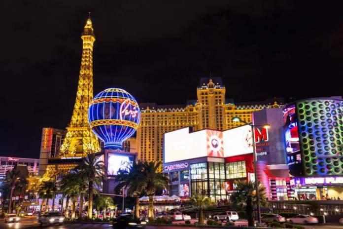 Las Vegas é um dos destinos nos Estados Unidos que mais recebem turistas