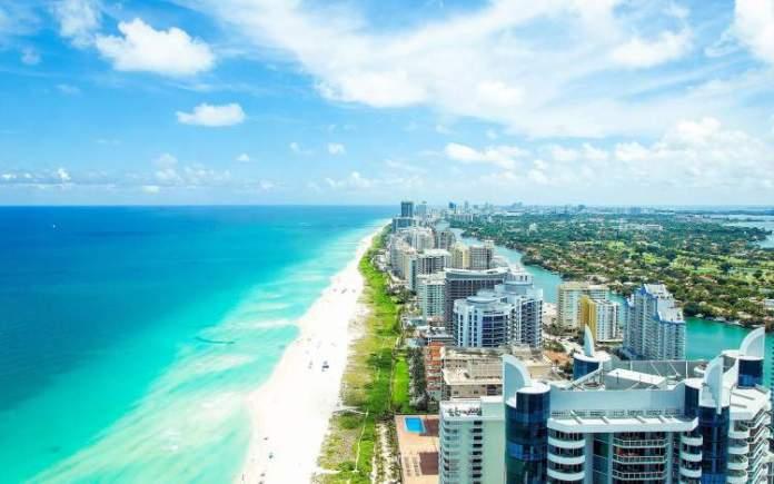 Miami é um dos destinos nos Estados Unidos que mais recebem turistas