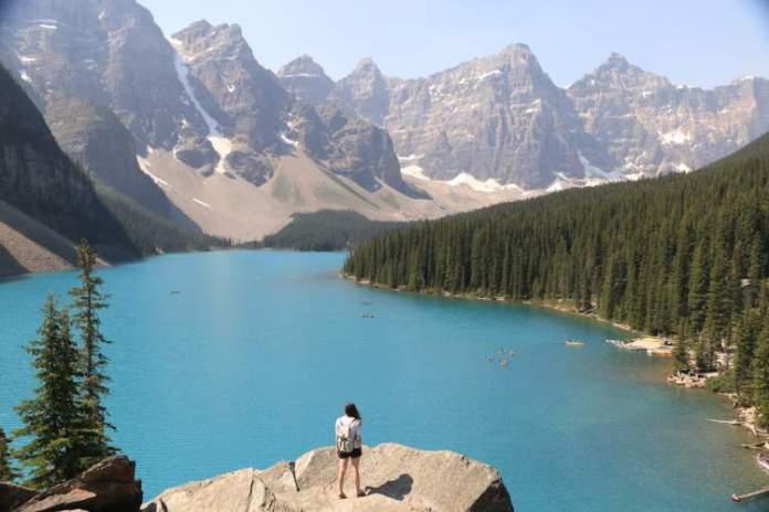 Montanhas-Rochosas é um dos destinos incríveis ao redor do planeta