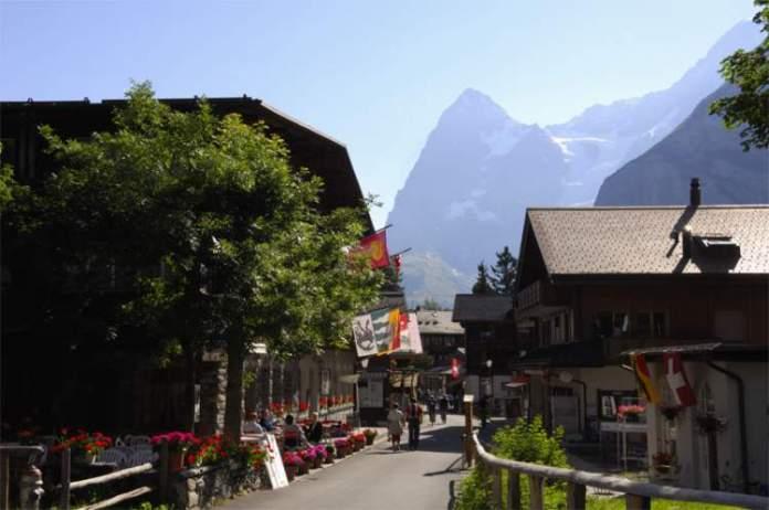 Mürren é um dos lugares maravilhosos na Suíça