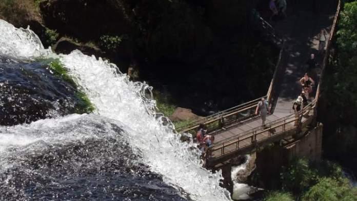 Passarela Circuito Superior Cataratas é um dos pontos turísticos próximos ao Cataratas do Iguaçu