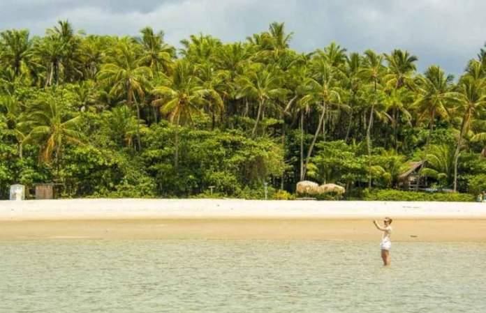 Praia de Moreré é uma das melhores praias e piscinas naturais da Bahia