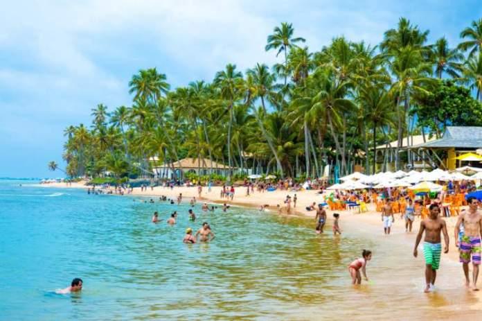 Praia do Forte é um dos destinos para viajar em Agosto 2018