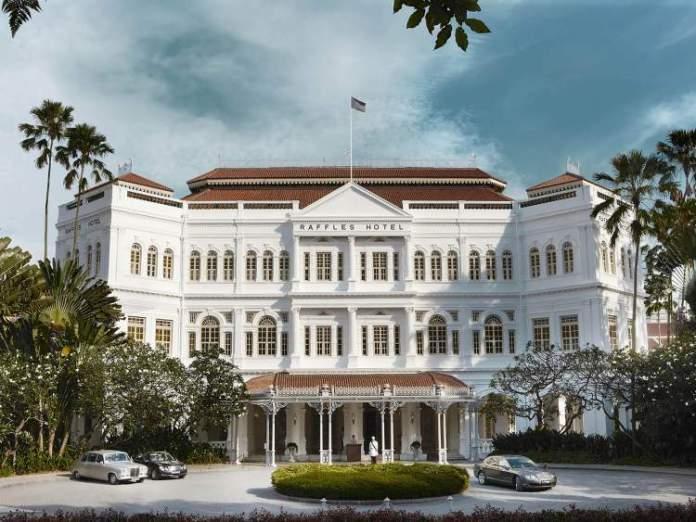 Raffles Hotel é um dos pontos turísticos de Singapura
