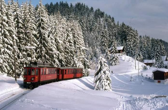 Saint Cergue é um dos lugares maravilhosos na Suíça