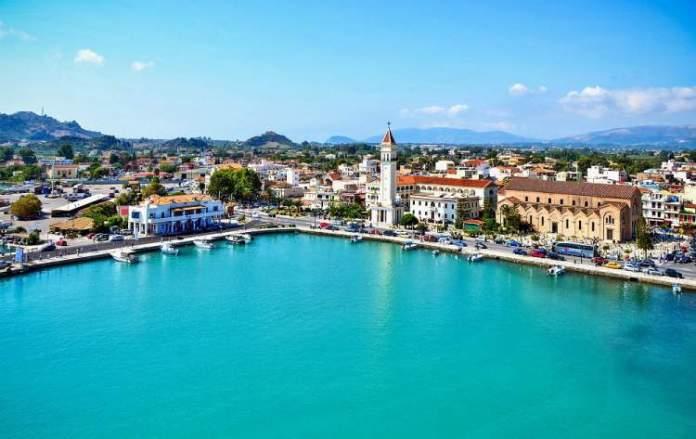 Zakynthos Town a capital
