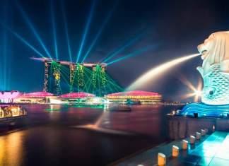 pontos turísticos de Singapura capa