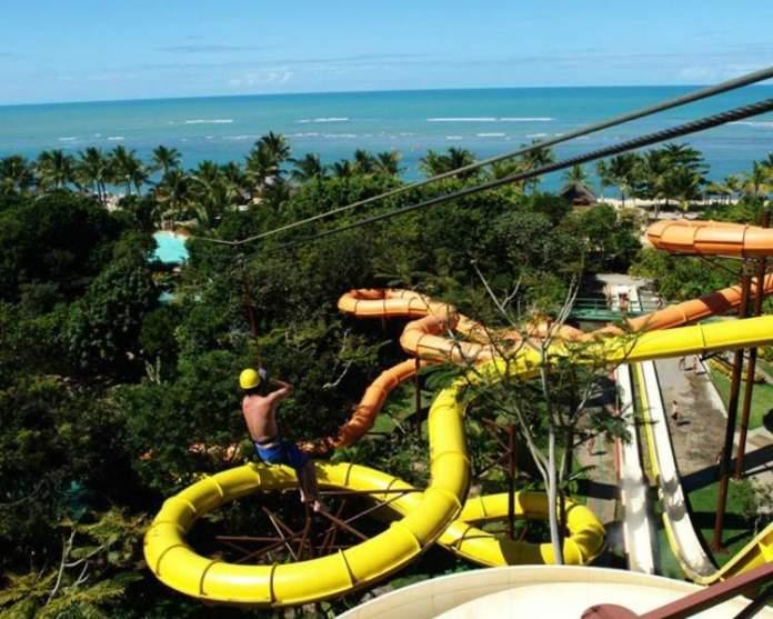 Eco Parque Arraial d'Ajuda é um dos melhores parques aquáticos do Brasil