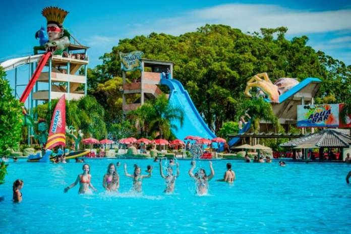 Marina Park é um dos melhores parques aquáticos do Brasil