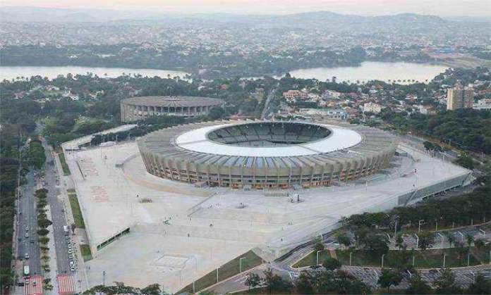 Mineirão é um dos pontos turísticos em Belo Horizonte