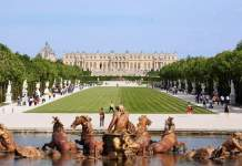 Palácio de Versalhes capa