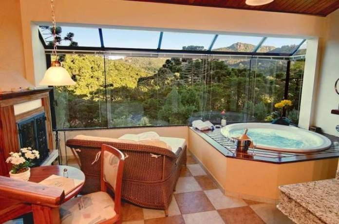 Pousada Spa Mirante da Colyna é uma das pousadas românticas em Monte Verde