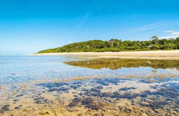 Praia da Ponta de Itapororoca é uma das melhores praias de Trancoso