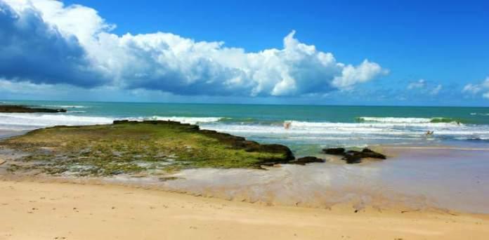 Praia de Itaquena é uma das melhores praias de Trancoso