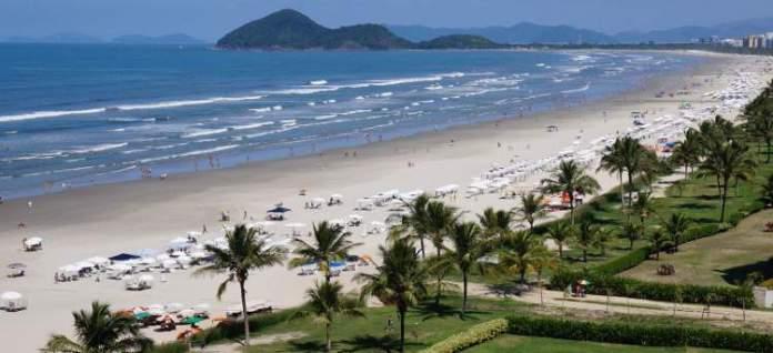 Riviera de São Lourençoé uma das melhores praias de Bertioga em São Paulo