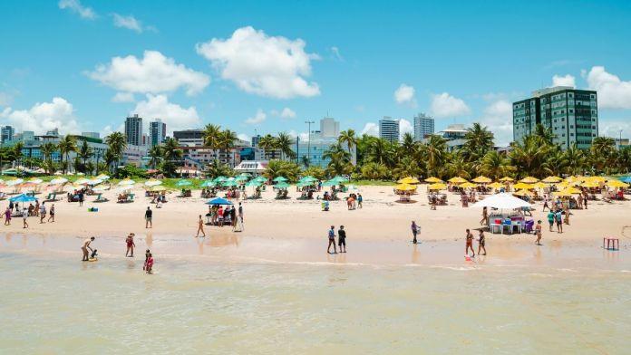 Tambaú é uma das praias mais bonitas de João Pessoa.