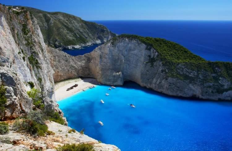 Zakhinthos é uma das melhores ilhas gregas