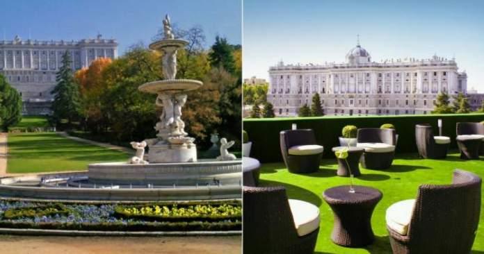 Campo del Moro e Jardines de Sabatini é uma das Atrações Gratuitas em Madri
