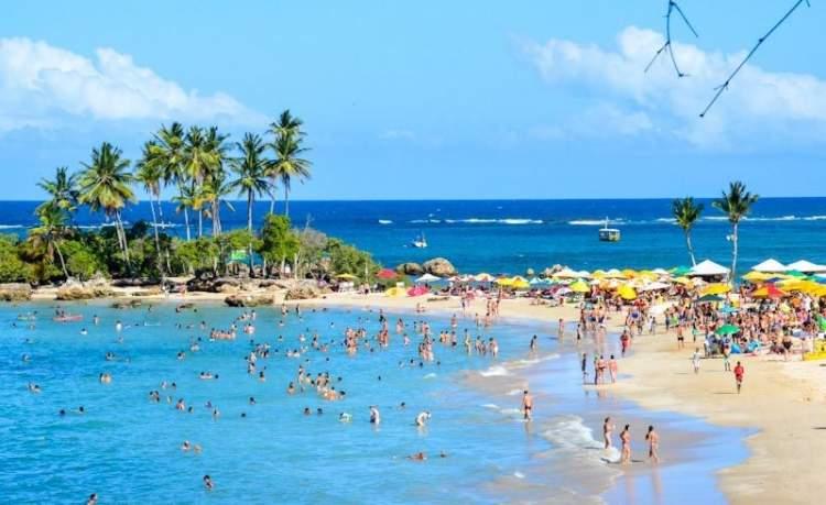 Melhores Praias de Morro de São Paulo: Segunda praia