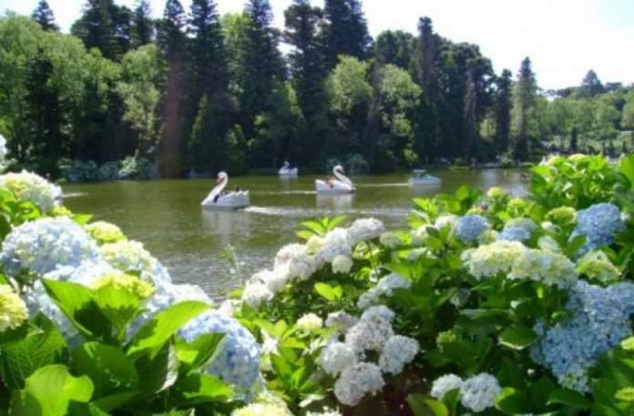 O que fazer em Gramado: Conhecer o Lago Negro