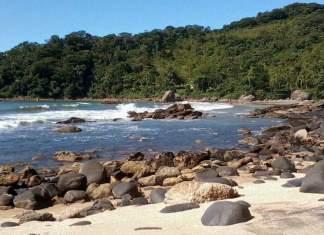 Praia Branca no Guarujá capa