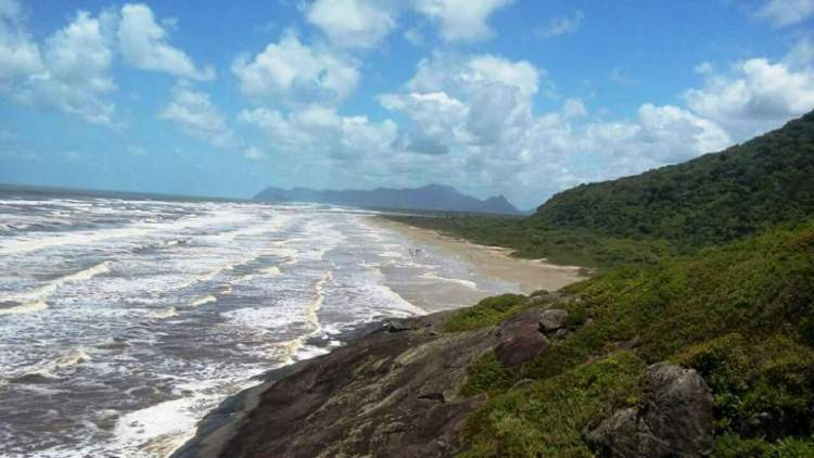 Praia da Jureia post