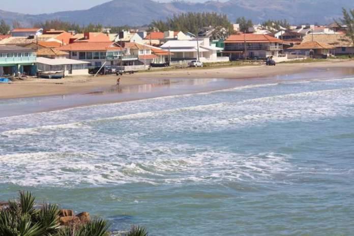 Praia de Itapirubá é uma das melhores praias de Imbituba