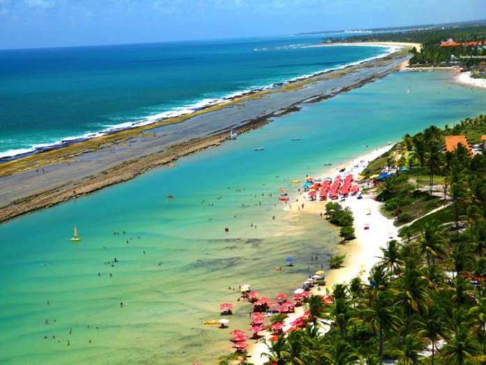 Praia de Muro Alto é uma das melhores Praias de Ipojuca
