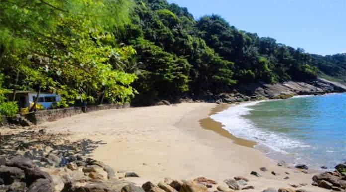 Praia do Éden no Guarujá post