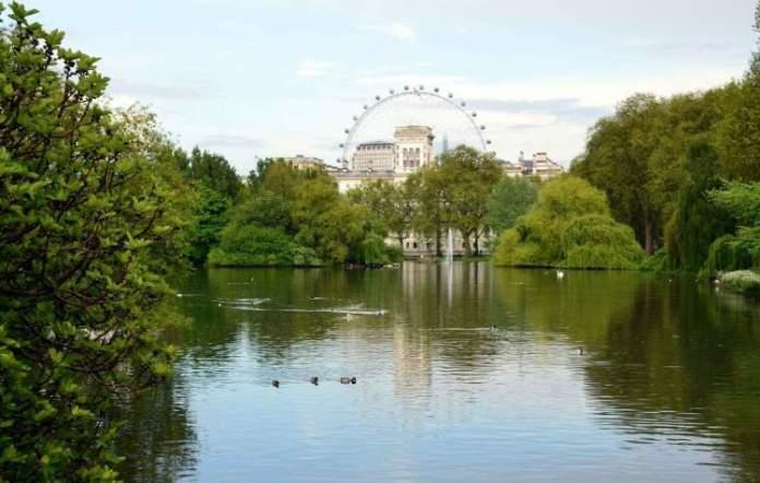 Saint James Park é uma das Atrações Gratuitas em Londres