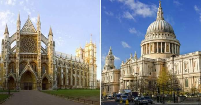 St. Paul's Cathedral e Westminster Abbey é uma das Atrações Gratuitas em Londres