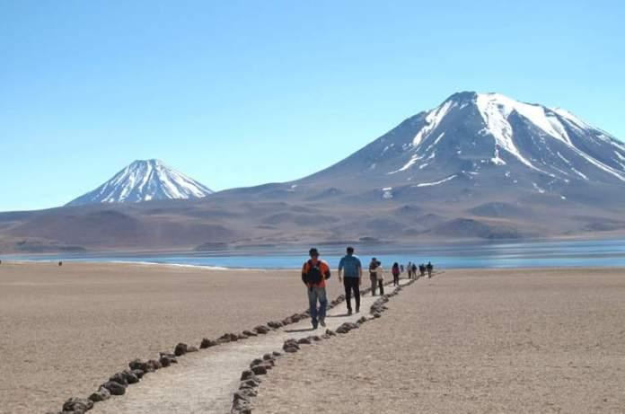 Deserto do Atacama no Chile é um dos destinos para aventureiros