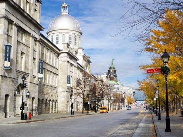 Old Montreal é um dos passeios diferentes para fazer em Montreal