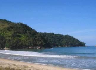 Praia do Camburi em Ubatuba