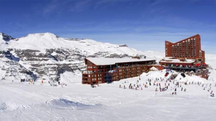 Valle Nevado no Chile é um dos melhores destinos para esquiar