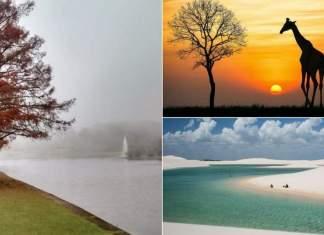 melhores destinos para viajar em Junho