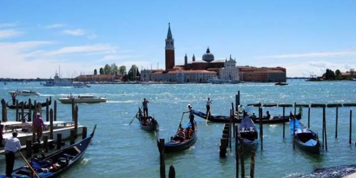 Baia dos Barcos é uma das atrações gratuitas em Veneza