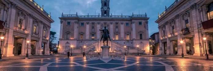 Campidoglio é uma das atrações gratuitas em Roma