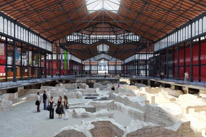 Centro Cultural do Born é uma das atrações gratuitas em Barcelona