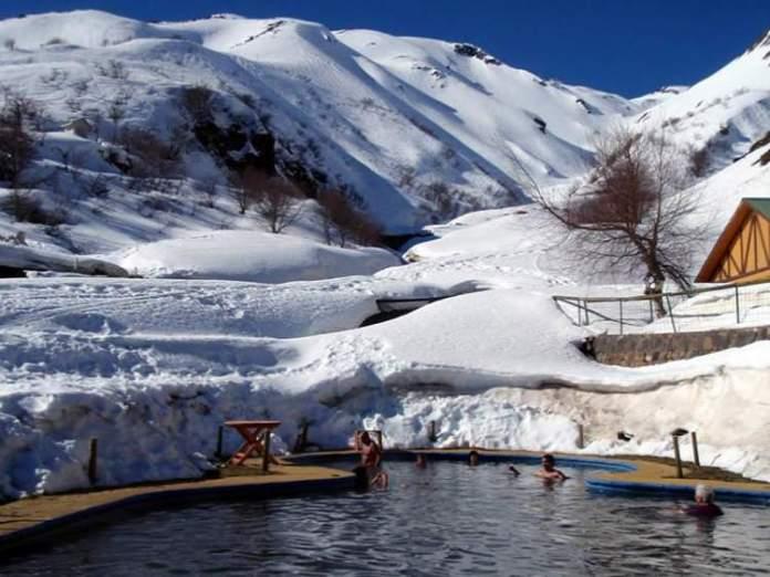 Chillan no Chile é um dos destinos de esqui na América do Sul